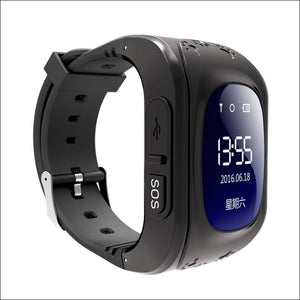 GPS Smart Kid Watch Just For You - Black - Smart Watches