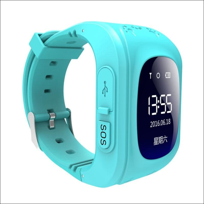 GPS Smart Kid Watch Just For You - Blue - Smart Watches