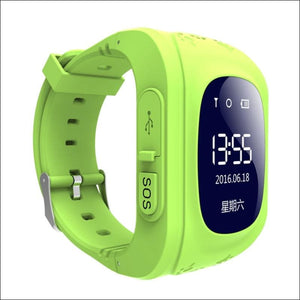 GPS Smart Kid Watch Just For You - Green - Smart Watches
