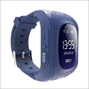 GPS Smart Kid Watch Just For You - Navy Blue - Smart Watches