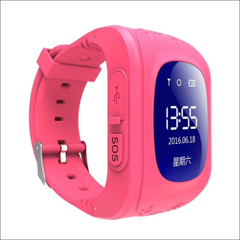 GPS Smart Kid Watch Just For You - Red - Smart Watches