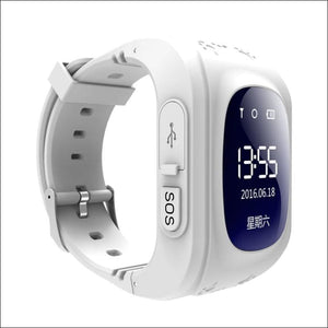 GPS Smart Kid Watch Just For You - White - Smart Watches