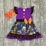 Halloween Purple Dress - Dresses
