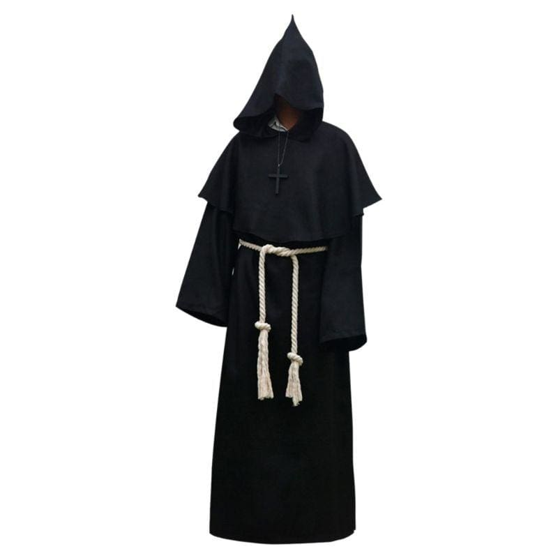 Halloween Robe Hooded Cloak Costume Just For You - Black / L / Other - Halloween