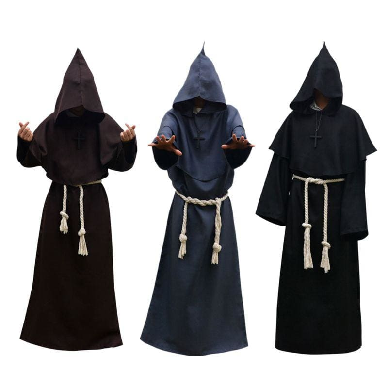 Halloween Robe Hooded Cloak Costume Just For You - Black / M / Other - Halloween