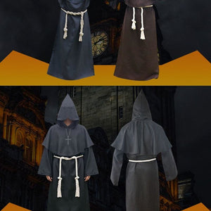 Halloween Robe Hooded Cloak Costume Just For You - Black / XL / Other - Halloween