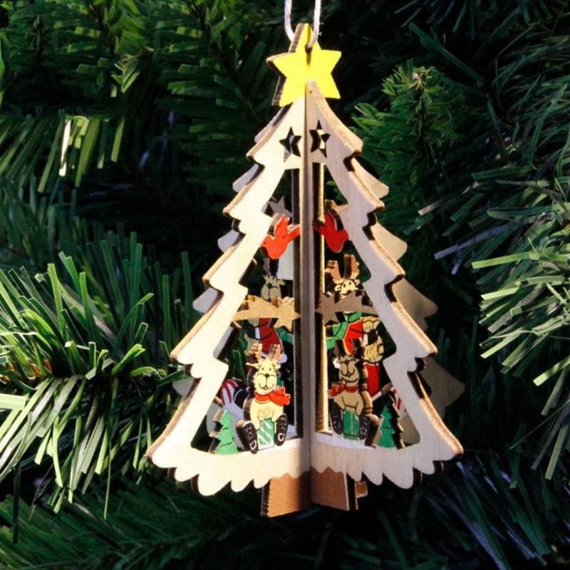 Hanging Christmas Tree - 2 - Pendant & Drop Ornaments