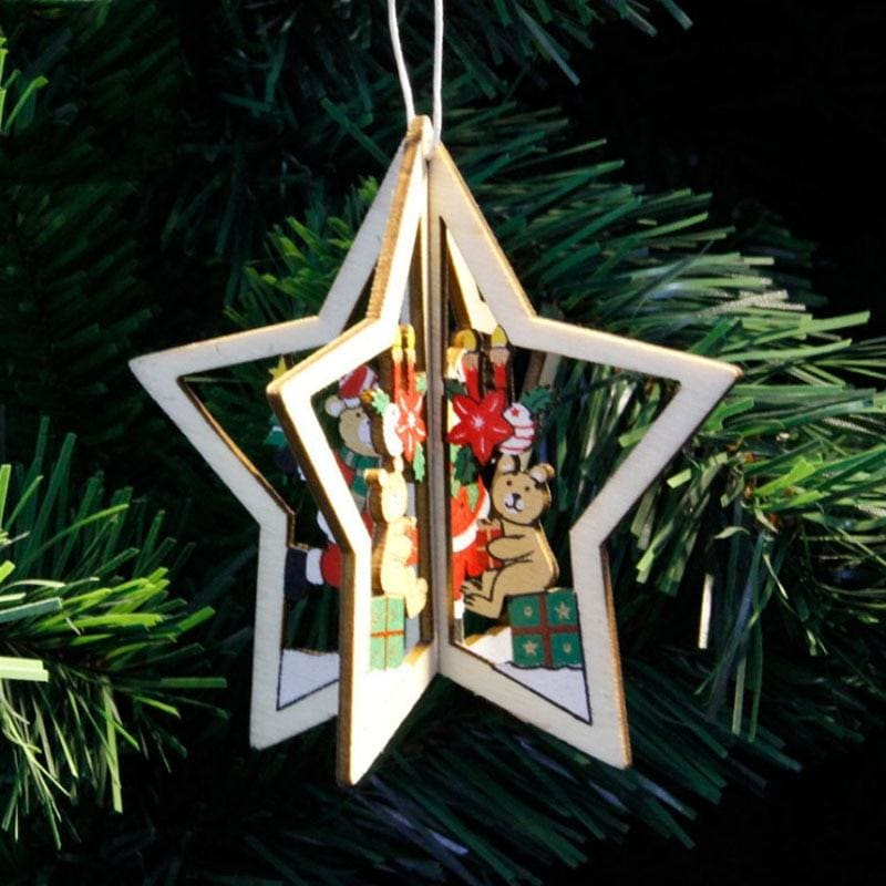 Hanging Christmas Tree - 3 - Pendant & Drop Ornaments