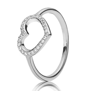Hearts Of Halo Clover Rings - 6 / 6 - Wedding Bands