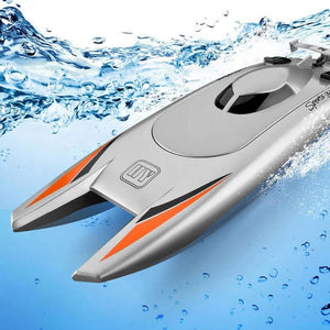 High Speed Boat Just For You - ToyBoat001-Gray - Kids Toys