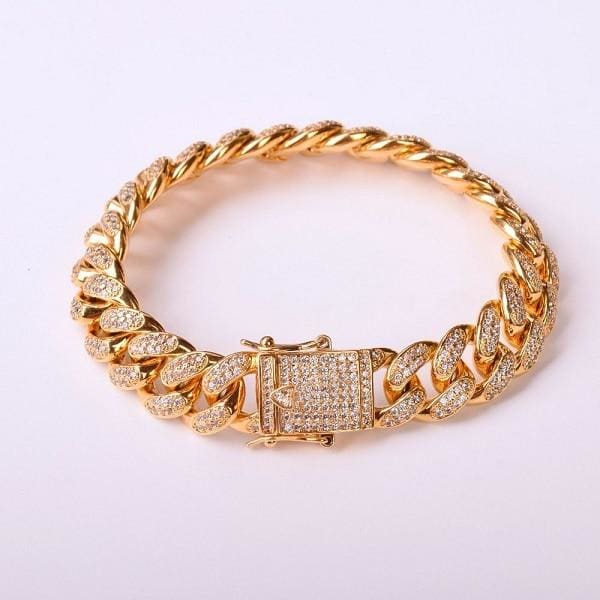 Hip hop Bracelet Just For You - gold / 7inch - Chain & Link Bracelets