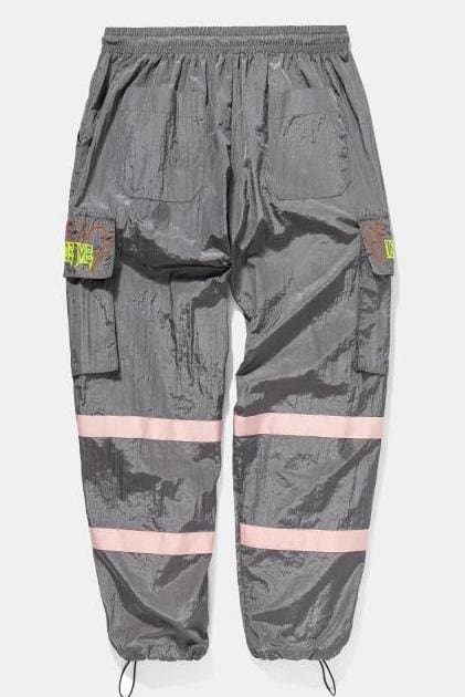 Hip hop wind pants - gray / L - Sweatpants