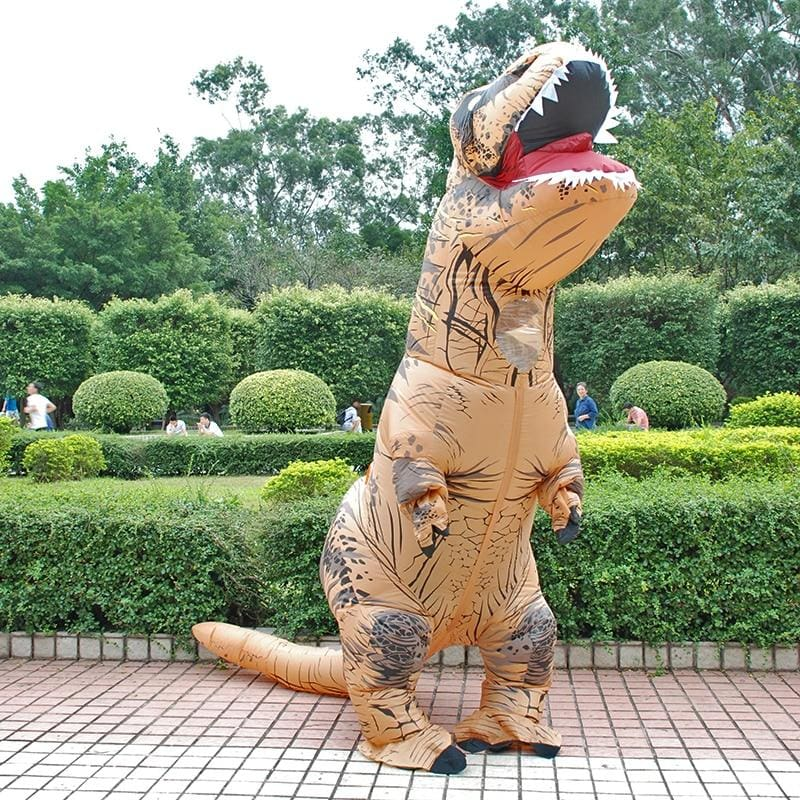 Inflatable Costume Dinosaur - Fancy Dress Costume