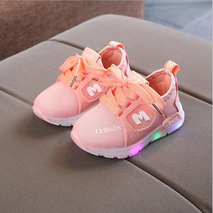 Kids LED Sneakers Shoes - Pink / 5.5 - LED Shoes Kids
