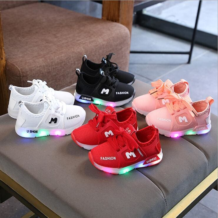 Kids LED Sneakers Shoes - LED Shoes Kids