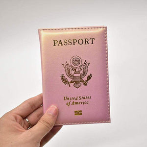 Leather USA passport holder - Card & ID Holders