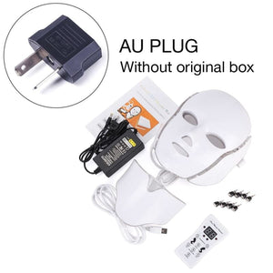 LED Light Therapy Mask - AU Plug withthou box - Face Skin Care Tools