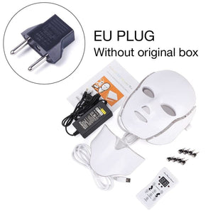 LED Light Therapy Mask - EU Plug withthou box - Face Skin Care Tools