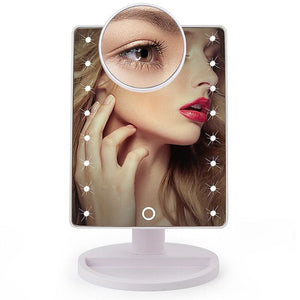Led Makeup Magnifying Vanity Mirror With Lights
