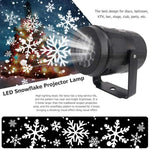 LED Snowflake Projector Lights for Christmas