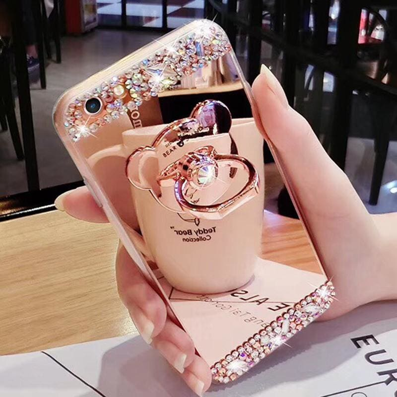 Luxury Rhinestone Case Cover For iPhone - Rhinestone Cases