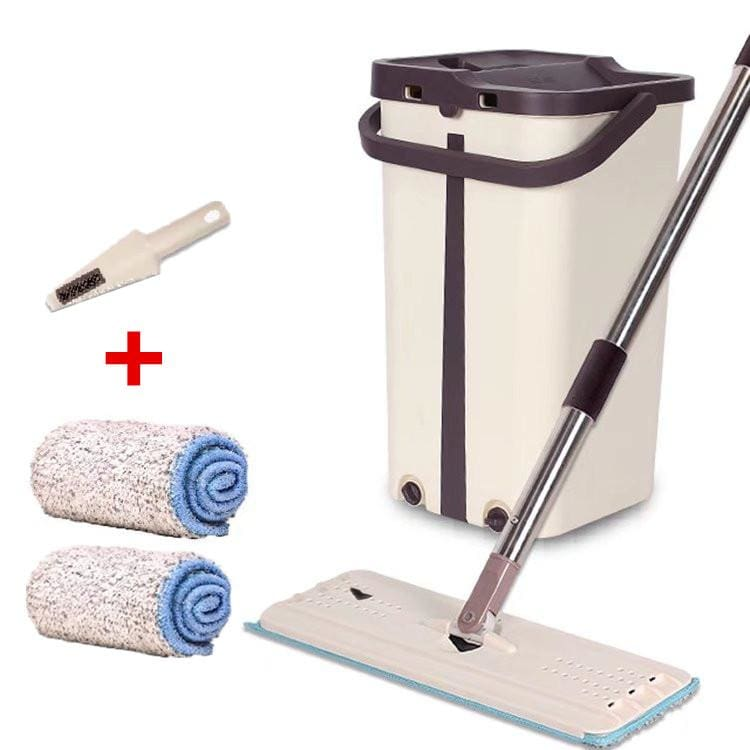 Magic Mop & Bucket Cleaner - Total 2 cloth - Mops