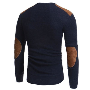 Mens Patchwork Sweaters Just For You - Pullovers