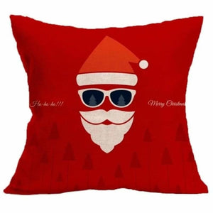 Merry Christmas Cushion Cover - type 1 / 45x45cm - Pendant & Drop Ornaments