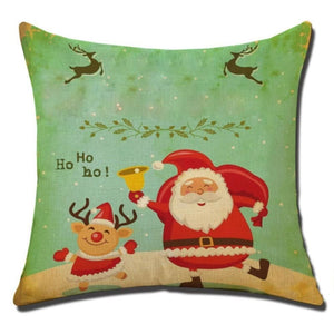 Merry Christmas Cushion Cover - type 11 / 45x45cm - Pendant & Drop Ornaments