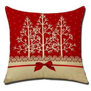 Merry Christmas Cushion Cover - type 12 / 45x45cm - Pendant & Drop Ornaments