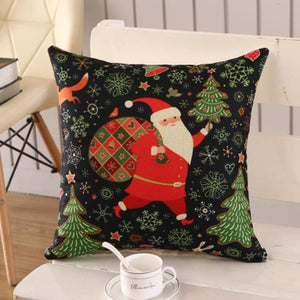 Merry Christmas Cushion Cover - type 13 / 45x45cm - Pendant & Drop Ornaments