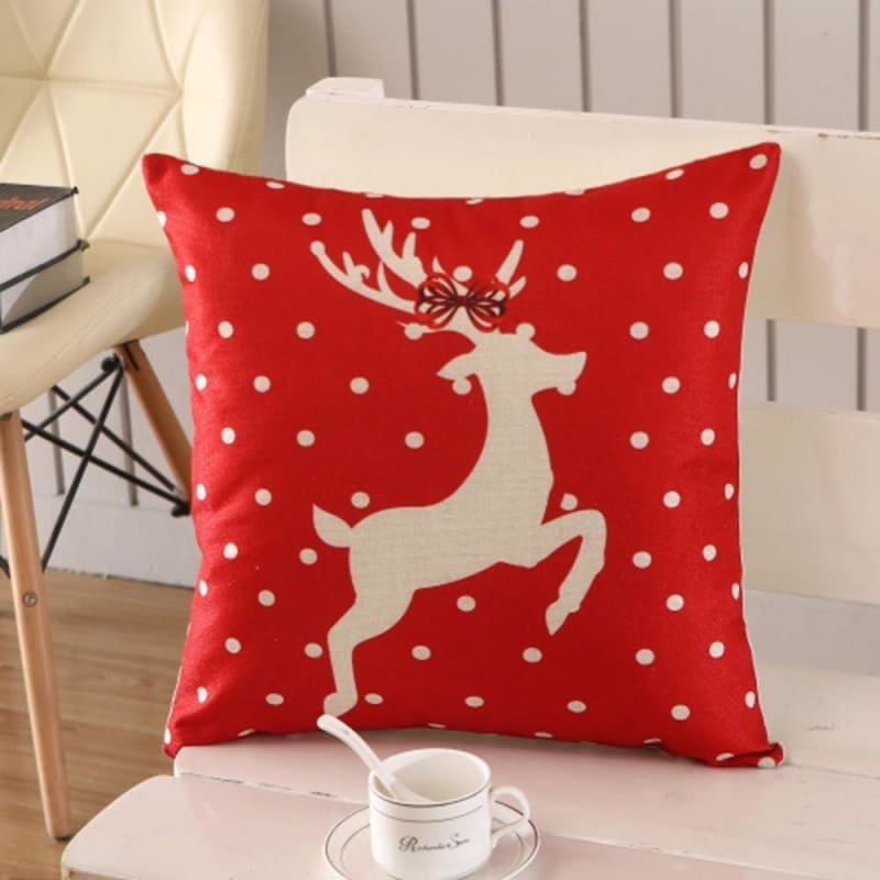 Merry Christmas Cushion Cover - type 14 / 45x45cm - Pendant & Drop Ornaments
