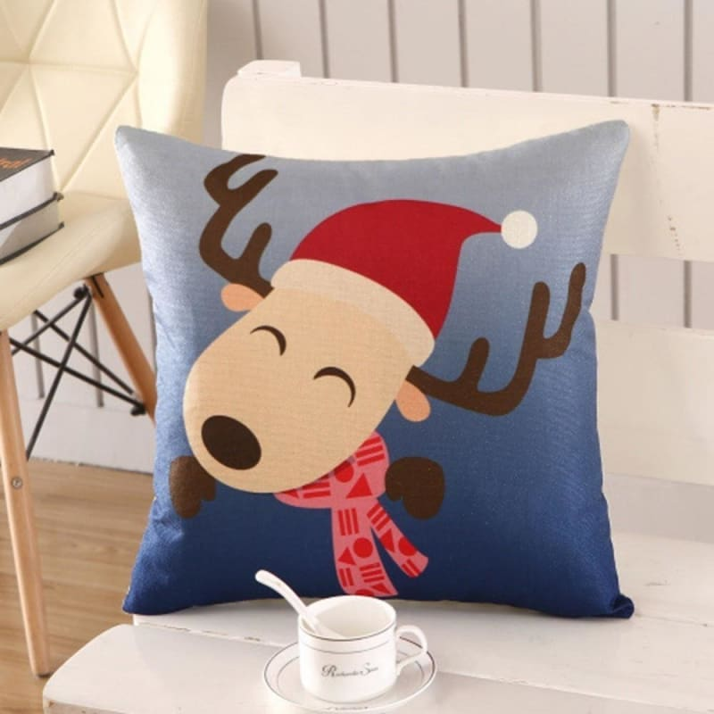 Merry Christmas Cushion Cover - type 15 / 45x45cm - Pendant & Drop Ornaments