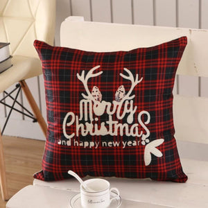 Merry Christmas Cushion Cover - type 18 / 45x45cm - Pendant & Drop Ornaments