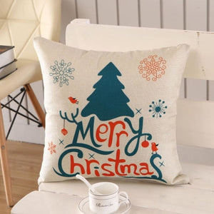 Merry Christmas Cushion Cover - type 20 / 45x45cm - Pendant & Drop Ornaments