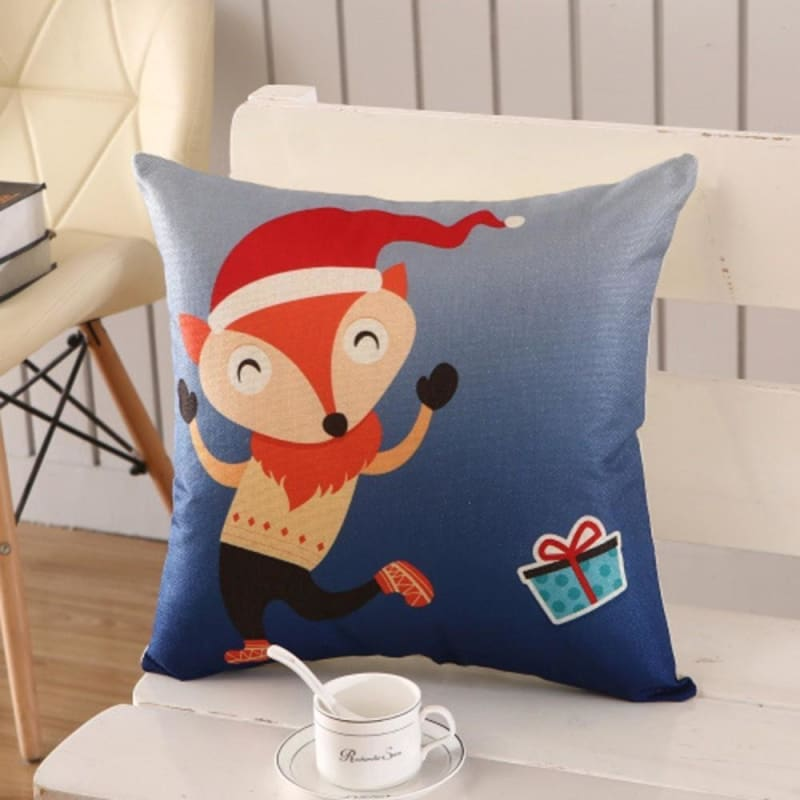 Merry Christmas Cushion Cover - type 21 / 45x45cm - Pendant & Drop Ornaments