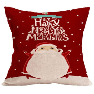 Merry Christmas Cushion Cover - type 3 / 45x45cm - Pendant & Drop Ornaments