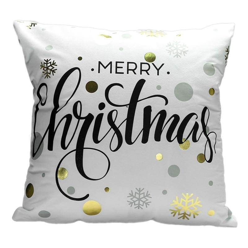 Merry Christmas Cushion Cover - type 31 / 45x45cm - Pendant & Drop Ornaments