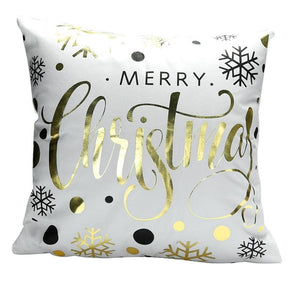 Merry Christmas Cushion Cover - type 32 / 45x45cm - Pendant & Drop Ornaments