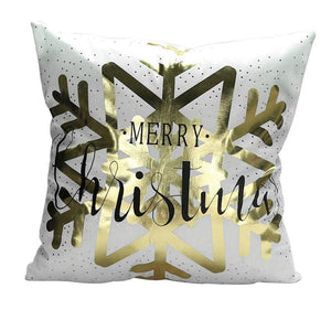Merry Christmas Cushion Cover - type 33 / 45x45cm - Pendant & Drop Ornaments