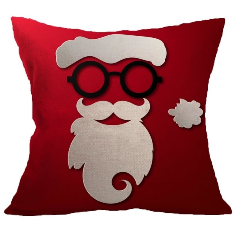 Merry Christmas Cushion Cover - type 5 / 45x45cm - Pendant & Drop Ornaments