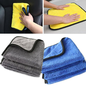 Microfiber Plush Detailing Towel - Sponges Cloths & Brushes