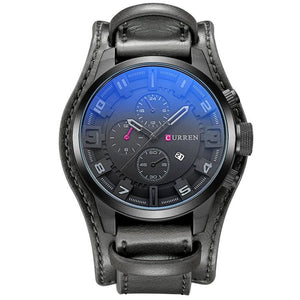 Military Sports Watch for Men - black black - Quartz Watches