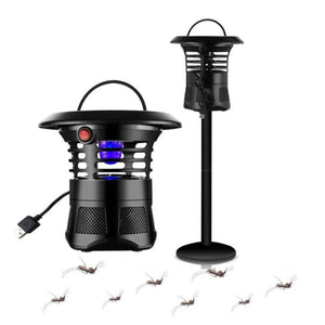 Mosquito Killer LED Lamp For Garden - Black - Mosquito Night Lights