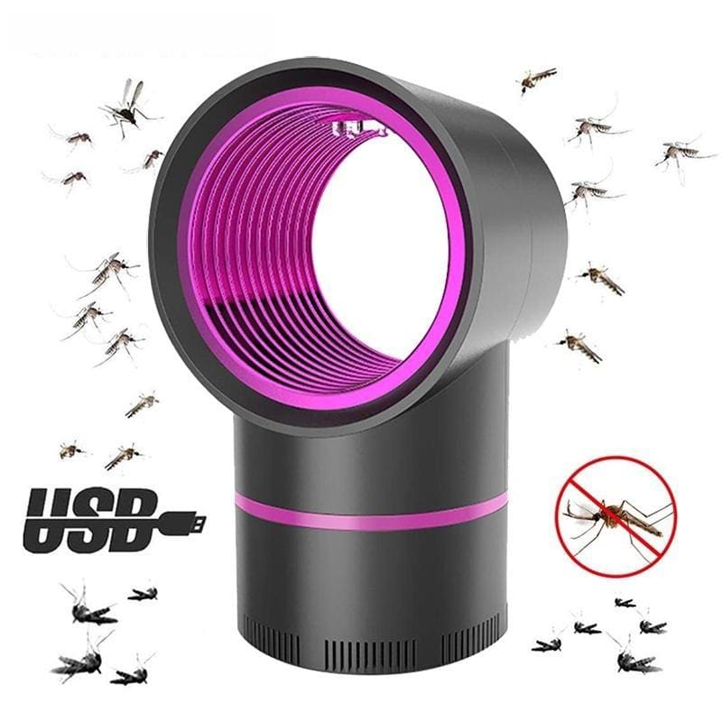 Mosquito Lights Killer Lamp - 1pcs balck No adapter plug - Mosquito Night Lights