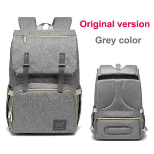 Multi-Function Diaper Bag - grey original versio - Diaper Bags