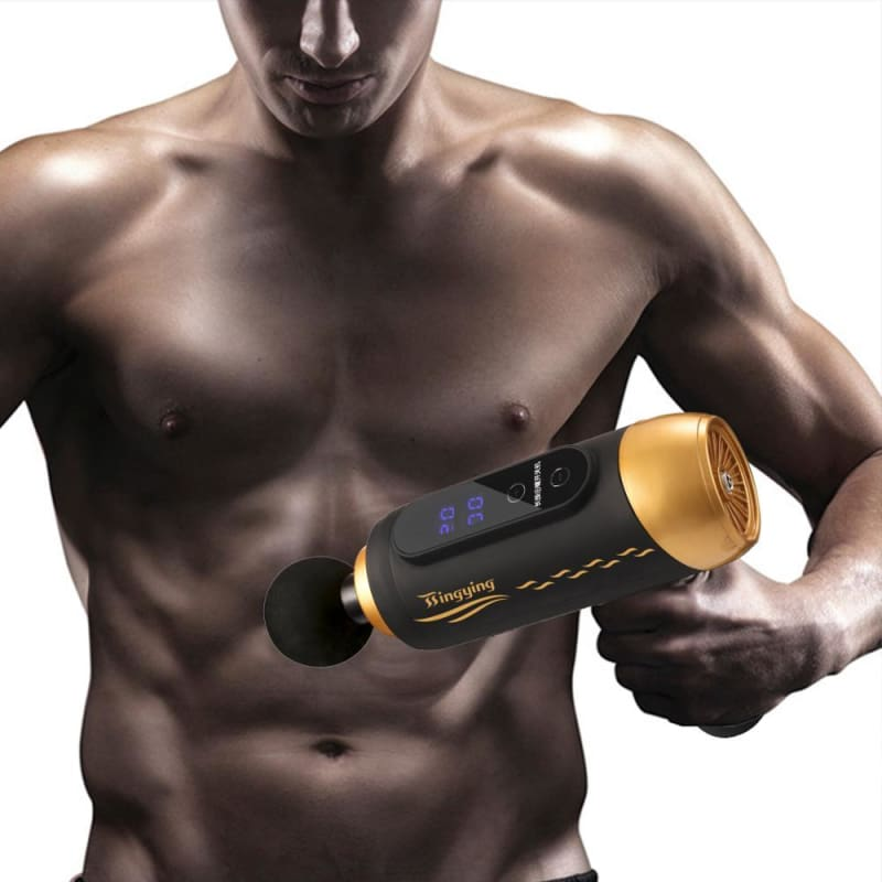 Muscle Relaxation Massager Just For You - Golden / US Plug - Massager1