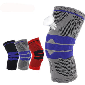 Nylon Silicon Knee Sleeve - Elbow & Knee Pads