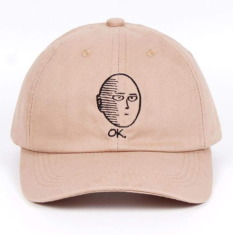 One Punch Man Cap Just For You - Khaki - Mens Baseball Caps