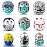 Owl Chick Cat Mix Beads - Beads